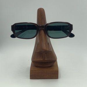 Calvin Klein Burgundy Oval Sunglasses Frames